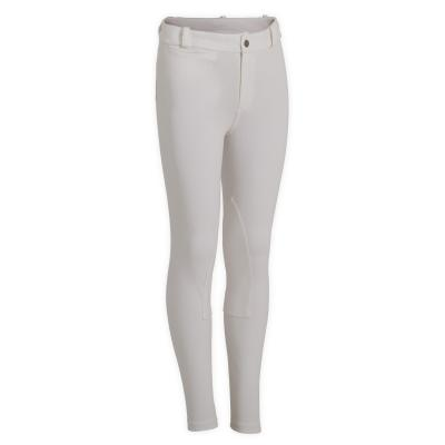 Pantalon 100 alb copii imagine