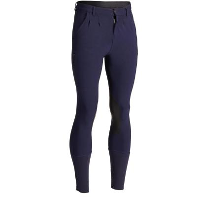 Pantalon 500 bleumarin bărbaţi imagine