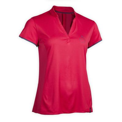 Tricou Polo 500 MESH roz Damă imagine