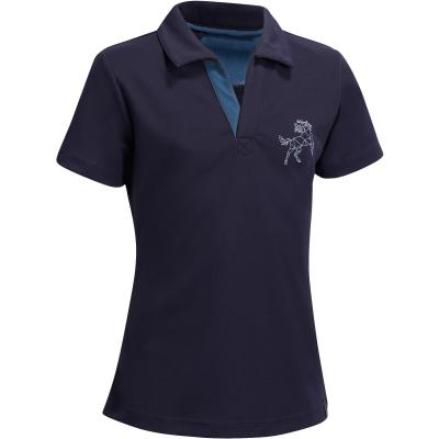 Tricou Polo mesh 500 Copii imagine