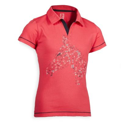 Tricou polo 100 roz imagine